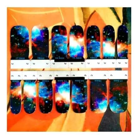 sterren nail wraps